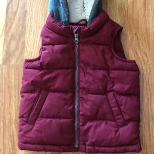 Old Navy toddler puffer vest